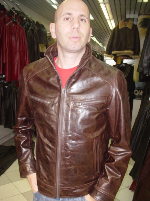 Vêtement cuir homme oakwood nikos : Blazer, Blouson, Veste